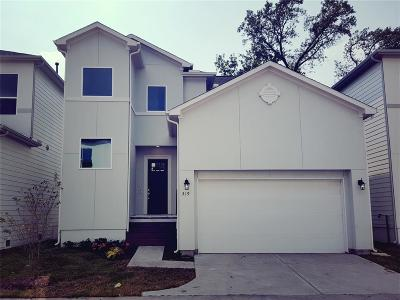 Houston Single Family Home For Sale: 319 Yale Oaks Lane