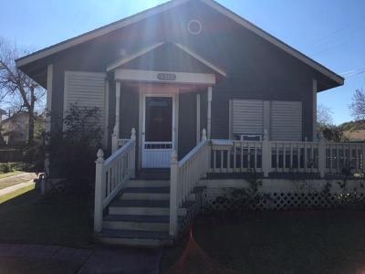 Single Family Home For Sale: 4311 Avenue Q 1/2