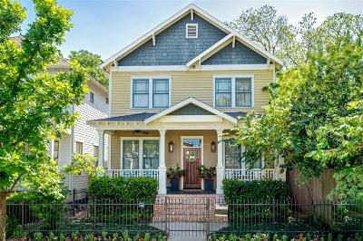 Houston Single Family Home For Sale: 822 Waverly Street