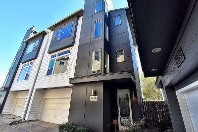 Houston Single Family Home For Sale: 1817 Crockett Street #B