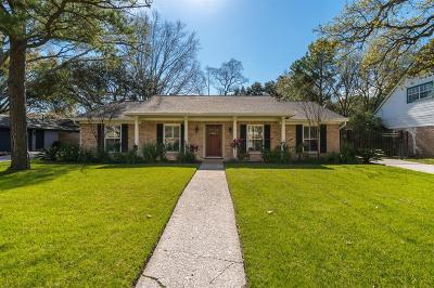 Houston Single Family Home For Sale: 1018 Ashford Parkway