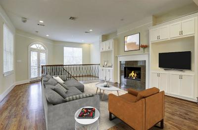 Houston Condo/Townhouse For Sale: 6309 Pickens Street #B