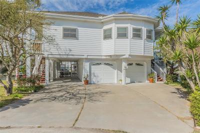 Galveston Single Family Home For Sale: 12714 Elena