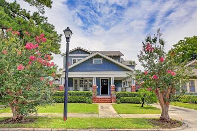 Houston Single Family Home For Sale: 909 Merrill Street