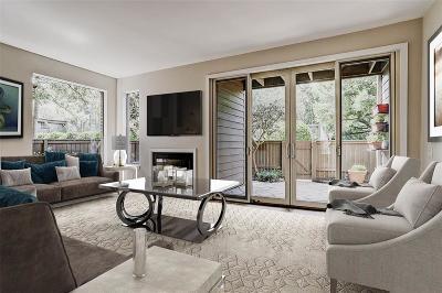 Houston Condo/Townhouse For Sale: 11543 Riverview Drive
