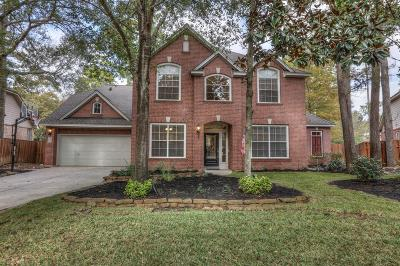 The Woodlands Single Family Home For Sale: 18 Clovergate Circle