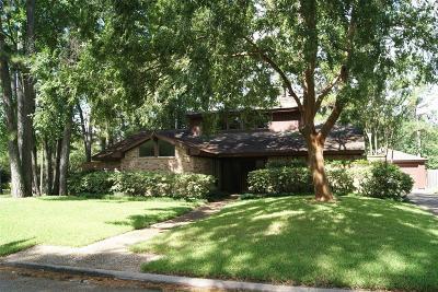 Houston Single Family Home For Sale: 2003 Hidden Creek Drive