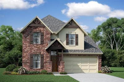 Katy Single Family Home For Sale: 4111 Highland Cliff Lane