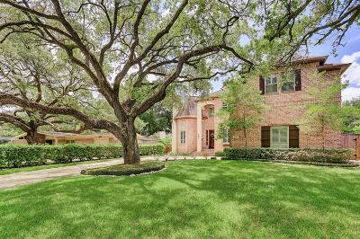 Meyerland Single Family Home For Sale: 5015 Jackwood