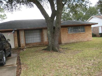 Pearland Single Family Home For Sale: 1123 Bobby Street