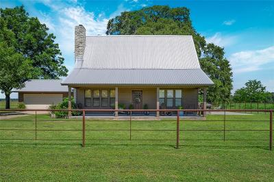 Fayette County Country Home/Acreage For Sale: 911 Joiner Road