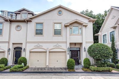Houston Condo/Townhouse For Sale: 26 Milan Estates