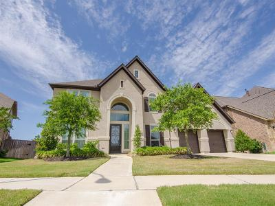 Katy Single Family Home For Sale: 27902 Burchfield Grove Lane