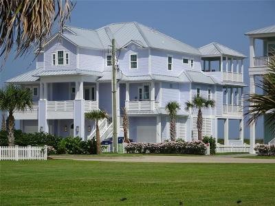 Galveston Single Family Home For Sale: 11403 Beachside