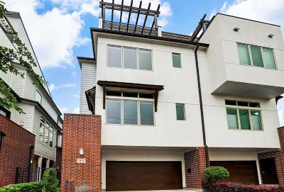 Montrose Condo/Townhouse For Sale: 4104 McDuffie Street