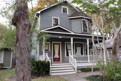 Houston Single Family Home For Sale: 405 Pecore Street