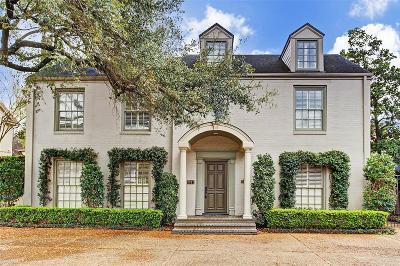 River Oaks Single Family Home For Sale: 3011 Locke Lane