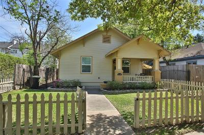 Houston Single Family Home For Sale: 1910 Oxford Street