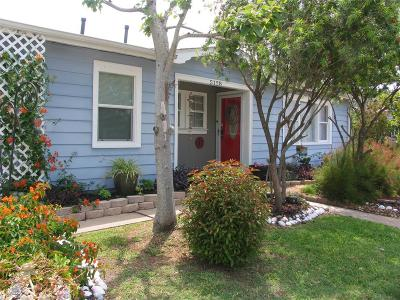 Single Family Home For Sale: 5128 Avenue R 1/2