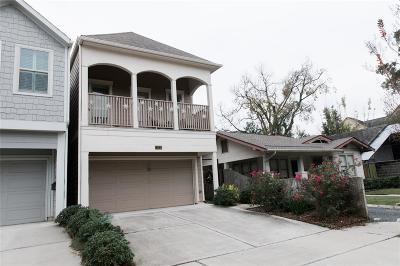 Houston Single Family Home For Sale: 1113 Peden Street #B