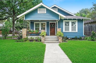 Houston Single Family Home For Sale: 1039 W Gardner Street