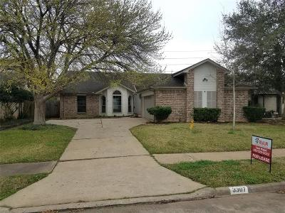 Sugar Land Single Family Home For Sale: 3307 Mesquite Dr