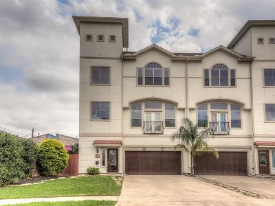 Houston Condo/Townhouse For Sale: 1511 Nevada Street
