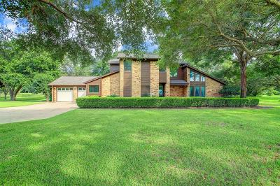 Manvel Single Family Home For Sale: 9403 Oakcrest Drive