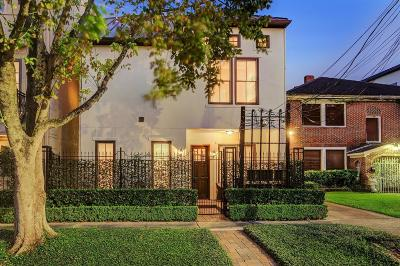 Harris County Condo/Townhouse For Sale: 1410 Rosedale Street