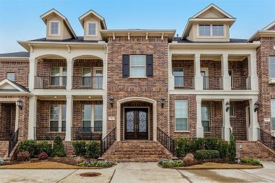 Sugar Land Condo/Townhouse For Sale: 522 Imperial Boulevard