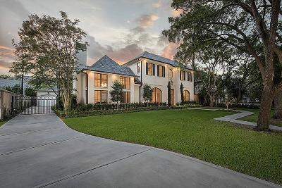 Houston TX Single Family Home For Sale: $3,249,000