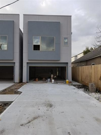 Houston Single Family Home For Sale: 3514 Bastrop Street