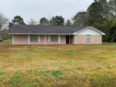 Liberty Single Family Home For Sale: 3909 Fm 160 Road N