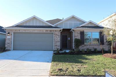 Alvin Single Family Home For Sale: 1239 Steed Bluff Drive