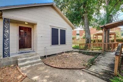 Single Family Home For Sale: 5002 N Shepherd Drive