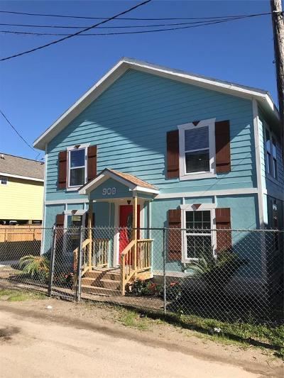 Galveston Rental For Rent: 909 32nd Street
