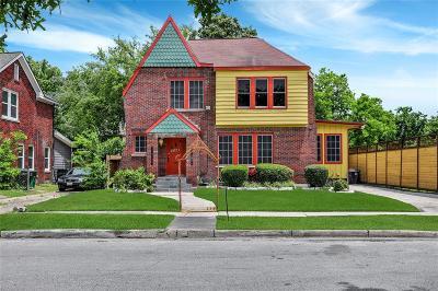 Houston Single Family Home For Sale: 2821 Eagle Street