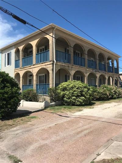 Galveston Single Family Home For Sale: 2112 25th Street
