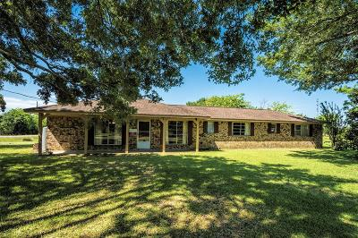 Alvin Single Family Home For Sale: 5420 County Road 266 Huepers R