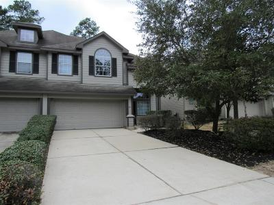The Woodlands Condo/Townhouse For Sale: 86 W Twinvale Loop