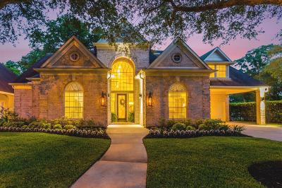 Houston Single Family Home For Sale: 18111 Langsbury Drive