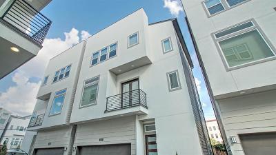 Houston Condo/Townhouse For Sale: 1508 Elgin