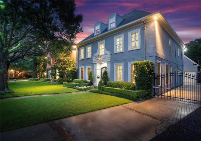 Houston Single Family Home For Sale: 2323 Seyborn Street