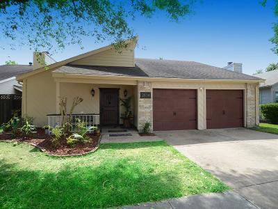 Houston TX Single Family Home For Sale: $196,000