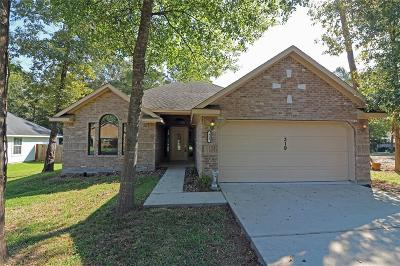 Conroe Single Family Home For Sale: 319 Shawnee Drive