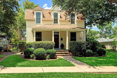 Houston Single Family Home For Sale: 523 W 15th Street
