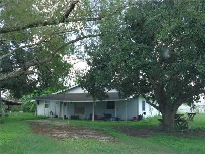 Rosharon Single Family Home For Sale: 8211a County Road 121