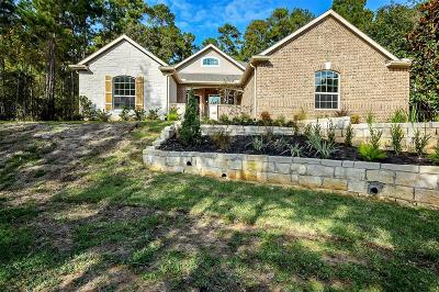 Conroe Single Family Home For Sale: 2002 Boulder Ridge Drive