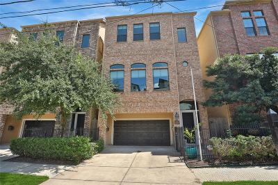 Houston Single Family Home For Sale: 1708 Silver Street