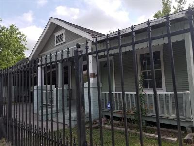 Houston Single Family Home For Sale: 10034 Fulton Street